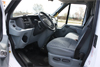 14-Seater Ford Transit view of driver's compartment